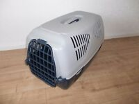 large pet carrier - cat basket - cat box - small dog carrier