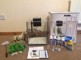 Fluval Chi Fishtank/Aquarium- Complete Start Up Set.