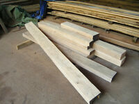 Air Dried Oak Beams in Stock, various sizes available
