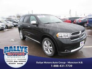 2013 Dodge Durango Crew Plus! AWD! Back-Up! Alloy! Nav! Leather!