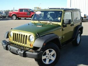 2007 Jeep Wrangler 4x4 Hardtop - Air, tilt, cruis