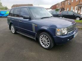 Range rover td6 2005 overfinch extras full mot full history no drives and looks great no faults