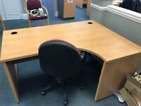 9 FREE Office desks and chairs, plus 8 sets of drawers