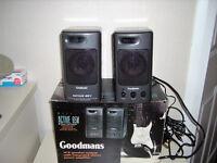 Goodmans Active speakers