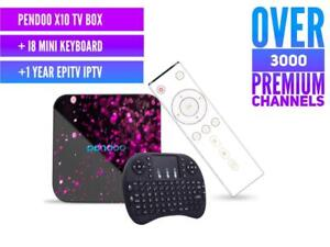 CALGARY - ANDROID TV BOX + 3 Months IPTV with 3000 Premium Channels + VOD + PPV