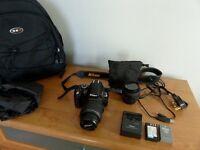 Nikon D3000 dslr.