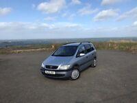 Vauxhall Zafira 2.0 DTI diesel 12 month MOT 7 seater