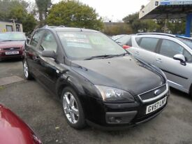 FORD FOCUS 1798cc ZETEC CLIMATE 5 DOOR HATCH 2007-57, 1 FORMER KEEPER, SERVICE HISTORY TO 62K