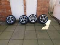 Genuine BMW F30 F31 3 4 Series Alloy Wheels 442M M Sport