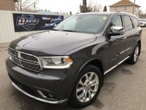 2017 Dodge Durango Citadel Third row seating! Addaptive cruis...