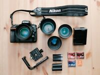 Nikon D810 + lenses + accessories