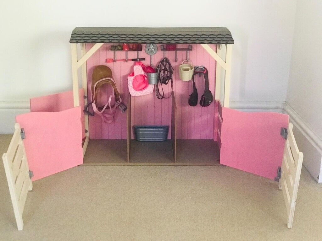 Our Generation Saddle Up Stables Set For 20 Inch Horses And 18 Inch Dolls In Gateshead Tyne And Wear Gumtree