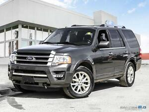 2017 Ford Expedition Limited | 4x4 | Leather | Moonroof | Remote