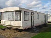 3 BED STATIC CARAVAN FOR HIRE/RENT SKEGNESS, PET FRIENDLY SAT 18TH - SAT 25TH MAR £110