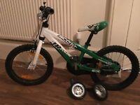 Scott Jr Voltage Child's Bike Green/White Vgc 4-7 Years