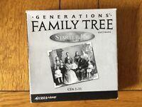 Set of CD roms for making Family tree