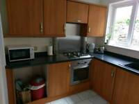 Kitchen for sale - with work surfaces, oven, hob, extractor fan, sink and tap