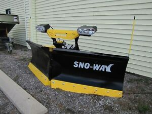 2017 Sno-Way 8'6 29VHD SERIES V-BLADE SNOW PLOW Peterborough Peterborough Area image 1
