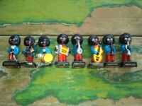 Robertson Figures - 8 piece music band of Gollies