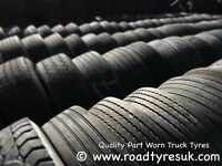 Second hand tyres - used truck tyres for sale