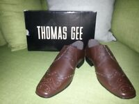Thomas Gee Leather Brogue Shoe (Size 7) New RRP £55.00 Selling £25
