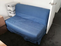 Ikea LYCKSELE Two-seat sofa-bed,