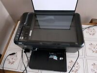 For Parts and repair Used HP deskjet F4580, 3 in one printer and scanner.