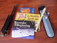 Recorder and accessories