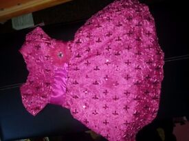 girl dress size from 12m