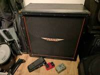 Ashdown 4x12 cab and guitar effects pedals