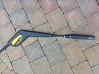 Karcher power washer lance and hose.