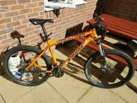 Orange Crush bike frame 19'