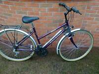Ladies classic Raleigh bike. 15 gears. Hardly used.