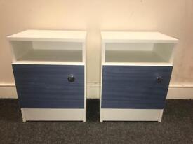 Pair of Bedside Lockers