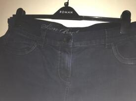X2 pairs of primary size 16 jeans long leg