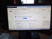 Dell in2020f widescreen 20 inch monitor