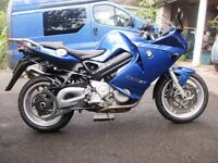 BMW F800 ST ABS December 2007, BMW panniers, great condition, MOT till July 2017