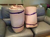 Duvalay 4.5 tog memory foam sleeping bag mattress