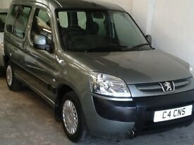 Peugeot partner 1.4 mpv (new mot)