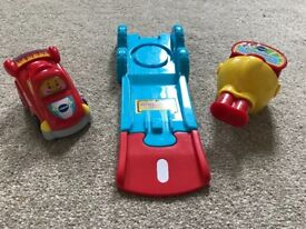 VTech Toot Toot Drivers Push n Go Launcher