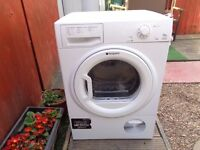 hotpoint condenser dryer 7.5 kg load like new