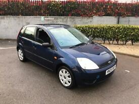 image for FORD FIESTA STYLE 1596cc AUTOMATIC PETROL 5DR HATCHBACK 2005 1 OWNER FULL SERVICE HISTORY BLUE🚘🚗