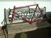 Falcon Reynolds 531 Road Bike Frame 22.5 inches For Colin
