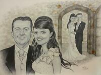 GIFTS FOR ANY OCCASION:  HAND-PAINTED PORTRAITS & CARICATURES