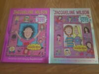 2 Jacqueline Wilson Annuals 2011 and 2012