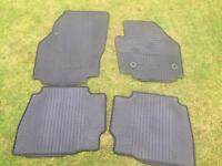 Genuine 4 x Ford Mondeo Rubber Car Mats
