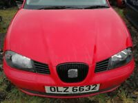 Seat Ibiza 2005 - For parts only!