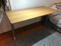IKEA Galant Desk -160 x 80 cm, height adjustable, RRP 130£