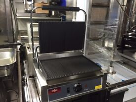 NEW PANINI CONTACT GRILL CATERING COMMERCIAL FAST FOOD RESTAURANT SANDWICH BARHOP