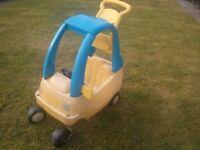 Crazy coupe - garden car